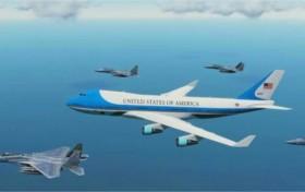 """原创 美国总统乘坐的""""空军一号"""",为何被称为无法击落的飞机?"""
