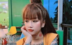 19岁女孩痴迷纹身,全身上下都是纹身图案:不会因别人改变